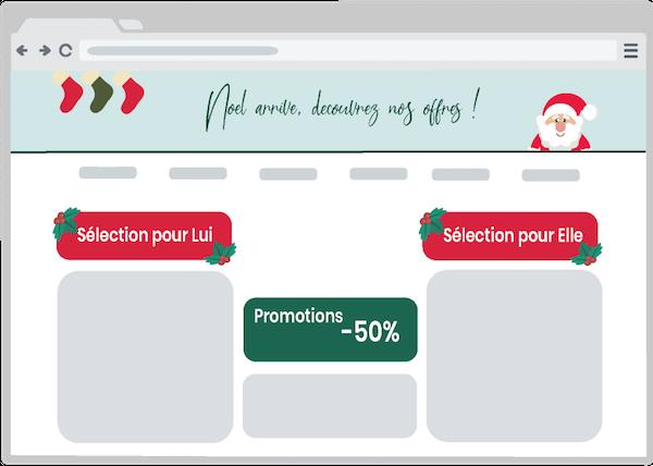 Exemple de mise en place de catégorie sur une boutique en ligne
